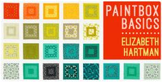 Robert Kaufman Fabrics: Solids - Paintbox Basics
