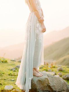 Ethereal wedding dress by Tatyana Kocknova.