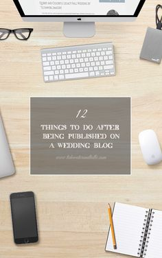 Tidewater and Tulle | A Virginia Wedding Blog: 12 Things to Do After You Have Been Published