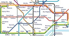 Ale Junction Tube Map