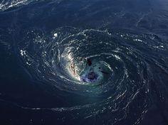 """""""Black Hole"""" Whirlpools"""