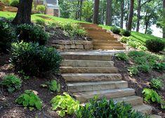 Water's Edge Serpentine Steps