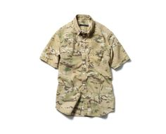 Sophnet Camouflage Short Sleeve Shirt