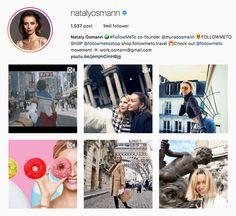 "My Influencers: Nataly Osmann - Fashion / Style / TravelsThere is always a lot of work behind nice pictures on Instagram, but we are happy to do all of these jobs.""  #fashion #styleinfluencer #travelinfluencer #beautyinfluencer #shopingfluencer #followmeto #muradosmann #natalyosmann #myinfluencerblog"