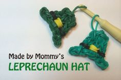 Make a Leprechaun Hat for St Patricks Day on the Rainbow Loom!