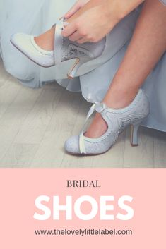 ** SHOP NOW ** Bridal Shoes to suit every style from The Lovely Little Label, we've got low heel wedding shoes, high heel wedding shoes, wedges, kittens heels - something for every bride. Bridal Shoes Wedges, Wedge Wedding Shoes, Wedding Heels, Low Heel Bridal Shoes, Low Heel Shoes, Low Heels, Wedge Shoes, Bride Shoes, Prom Shoes