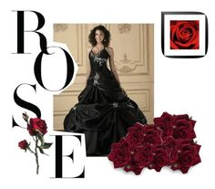 """Dark wedding"" by martina-gorletta on Polyvore featuring moda"