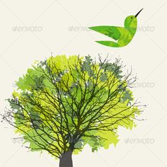 Tree and Hummingbird  #GraphicRiver         Background with tree, leaf and hummingbird. Included files: Vectors in EPS10 and AI CS formats, JPEG (2800×2800)     Created: 27February13 GraphicsFilesIncluded: JPGImage #VectorEPS #AIIllustrator Layered: Yes MinimumAdobeCSVersion: CS Tags: animal #applique #autumn #background #bird #card #cartoon #cute #decoration #design #drawing #foliage #forest #garden #graphic #green #holiday #hummingbird #illustration #leaf #nature #plant #poster #season…