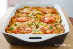 Creamy vegetable pasta bake (Extra Easy - 1/2~ Green - 1/2)