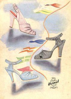 Pretty Shoes (1950's)