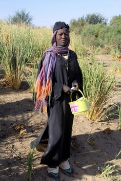 Nubian villager.