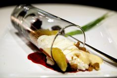 Deconstructed cheesecake | Pichet Ong's Spot Soft cheesecake… | Flickr