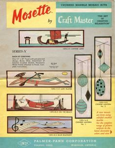 Vintage Crafty – Mosette Gravel Art