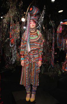 Jenny Kee. 2012/13 Australian Fashion Shows Spring/Summer.