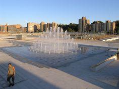 3D Fountain, Zaragoza, Spain