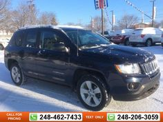 2012 Jeep Compass Latitude 51k miles $13,597 51624 miles 248-462-7433 Transmission: Automatic  #Jeep #Compass #used #cars #GollingChrysler #Waterford #MI #tapcars
