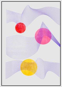 "Sanket Rane's Algorithmic Artwork, ""Parallel Universe"" #art   See more original art for under $1500 http://www.saatchiart.com/art-collection/Painting-Photography-Collage/Original-Art-Under-1500/820354/127977/view"