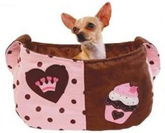 Royal Sweet Treat Snuggle Sack #dog #carriers Sling/Bag Style Carriers $135.00