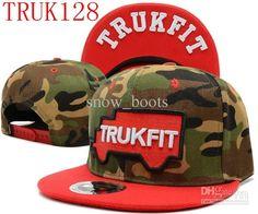 001425414915 Wholesale Best Quality Adjustable Camo Trukfit Snapback  Hat Custom Skate  Misfit Hats Snapbacks Snap Back