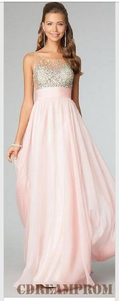 chiffon prom dress
