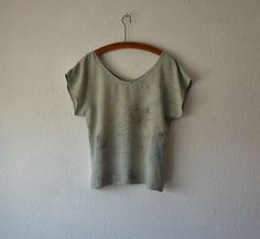 Naturally dyed bamboo silk blouse. Ethical Life Store.