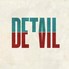 Devil in the detail.