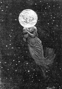 Moon Goddess. - beautiful.