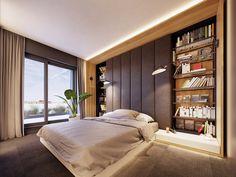 Feature Rich Decor In Family Friendly Apartment Romantic Bedroom Colors, Rustic Bedroom Sets, Beautiful Bedroom Designs, Bedroom Vintage, Beautiful Bedrooms, Flat Interior, Interior Design, Minimalist Bedroom Boho, Futuristisches Design