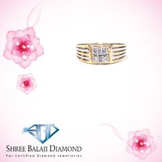 Add some sparkle to your finger with this stunning diamond ring.