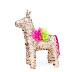 Gold Pinata/Donkey Pinata/Piñata/Weddings and Parties/Mexican Party Favors/Bridesmaid Proposal/Mexican Party Decorations/CincodeMayo/Pinata