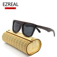 1faca5a35 2016 New polarized Bamboo Sunglasses Men Wooden Sun glasses Women Brand  Designer Original Wood Glasses Oculos