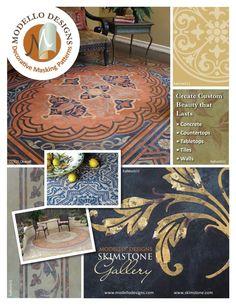 ISSUU - Modello Designs & Skimstone Gallery by Royal Design Studio and Modello Designs