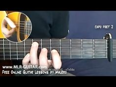 "▶ How to play ""Shape Of My Heart"" - MLR-Guitar Lesson #1 of 6 - YouTube"
