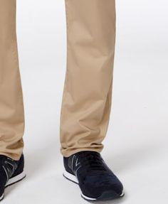 Armani Exchange Men's Straight-Fit Stretch Twill Jeans - Blue 40x32