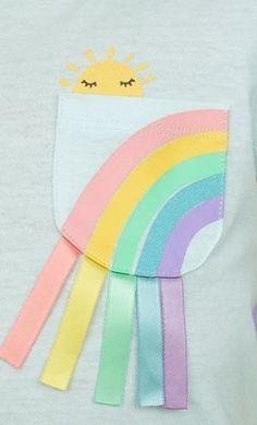 New embroidery blouse diy shirts ideas Embroidery Hoop Nursery, Embroidery Monogram, Diy Embroidery, Outfits Niños, Kids Outfits, Baby Girl Fashion, Kids Fashion, Zara Kids, Kids Prints