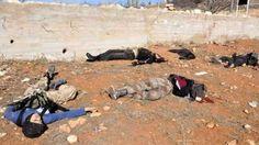 Jaisyul Islam habisi puluhan pasukan Assad  Ilustrasi mayat-mayat milisi pro Assad  Puluhan pasukan rezim Assad tewas dalam serangan balasan yang dilangsungkan pejuang Jaisyul Islam di pinggiran kota Damaskus Jum'at (18/11). Serangan ini juga berdampak pada lepasnya Medaani di Ghouta Timur dari kuasa Assad klaim kantor berita Jaisyul Islam. Pejuang Sunni itu mengatakan mereka juga berhasil menghancurkan kendaraan BMP (kendaraan tempur infanteri) dan Shilka saat mundurnya pasukan Assad…
