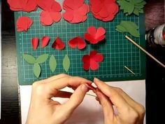 #pirosrózsa7-1 #papír #rózsa #tutorial #videó #diy #oktatóvideó #ajándék #dísz #alkotásmánia