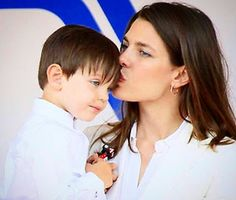 Charlotte and son, Gad Charlotte Casiraghi, Prince Rainier, She Walks In Beauty, Monaco Royal Family, Most Beautiful Women, Royalty, Youtube, Celebrities, People