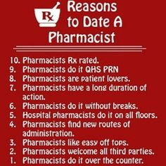 Love a Pharmacist