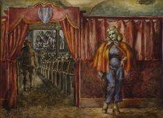 Reginald Marsh, Usherette, 1939. Collection Rockford Art Museum, Illinois