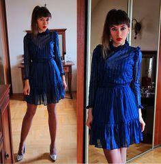 Jointy&Croissanty © - Ppz Bralet - Vintage dress and lace bralet   LOOKBOOK