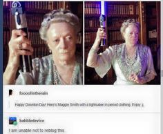 Dame Maggie Smith is having none of your shit. Maggie Smith, Tumblr Stuff, Tumblr Posts, Tumblr Funny, Funny Memes, Hilarious, Harry Potter, Fandoms, Thats The Way