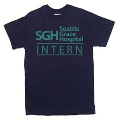 SEATTLE GRACE HOSPITAL T-Shirt grey's greys anatomy #Various #GraphicTee
