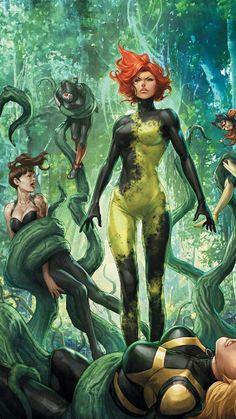 images of poison ivy gotham Comic Book Characters, Comic Character, Comic Books Art, Game Character, Heros Comics, Comics Girls, Dc Heroes, Nightwing, Batwoman