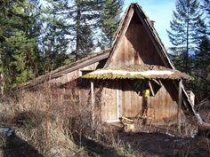 Mountain A-Frame Cabin