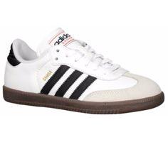 FUTBOL SALA Marca: Adidas 2 colores Talla:4 $140 PEDIDOS: Telf:(07) 2806610 Compra: 50% entrada y saldo 2 semanas contra-entrega. http://www.eastbay.com/product/model:5770/sku:463655/adidas-samba-classic-boys-grade-school/white/black/?cm=