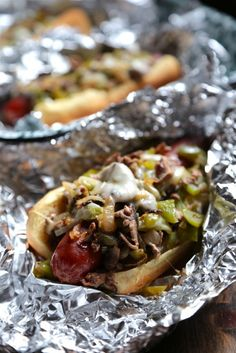 Philly Cheesesteak Hot Dog - www.countrycleaver.com