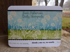 Serene Saturday by junior tx - Cards and Paper Crafts at Splitcoaststampers