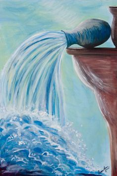 """""""Jesus stood and cried, saying, 'IF ANY MAN THIRST, LET HIM COME TO ME, AND DRINK. He that believes on Me... out of his belly shall flow rivers of living water.' (But this spoke He of the Spirit,"""" John 7:37-39."""