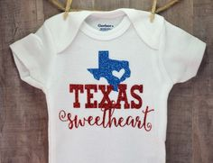 Texas Onesie Baby Shower Gift Bodysuit Novelty Girl Coming Home Outfit Shirt | Clothing, Shoes & Accessories, Baby & Toddler Clothing, Unisex Clothing (Newborn-5T) | eBay!